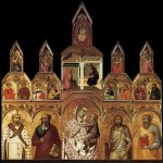 Pietro Lorenzetti (c. 1280 - 1348)  Polyptych  Tempera on wood, 1320  Pieve di Santa Maria, Arezzo, Italy